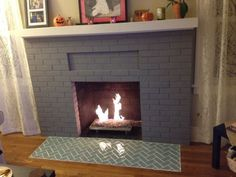 flooring witching fireplace hearth tile ideas from sage green glass tile with herringbone tile pattern layout also grey brick fireplace surrounds and white fireplace mantel shelves