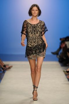 Isabel Marant my idol! How cute would this be with black tights and tall boots?
