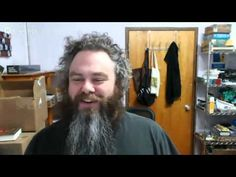 Pat & Nate Taylor Chat About Slow Regard Art The Wise Man's Fear, The Kingkiller Chronicles, Patrick Rothfuss, Youtube I, Artist At Work, Dreadlocks, Reading, Hair Styles, Authors