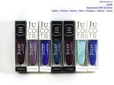 Julep Nail Colors in Celine, Christa, Danica, Eliza, Kristjana, Manda, Paula