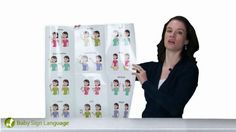 Baby Sign Language. Quick video clips on a-z words for sign language