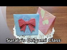 Origami - Paper Bag (Gift Bag) / 종이접기 - 종이 봉투 (선물 포장) - YouTube