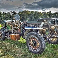 1917 La France Speedster, pre-war, American vintage car
