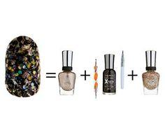 Mascarade étincelante - Party d'ongles: nail art à l'honneur!