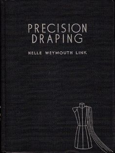Precision draping  Vintage Draping and patternmaking