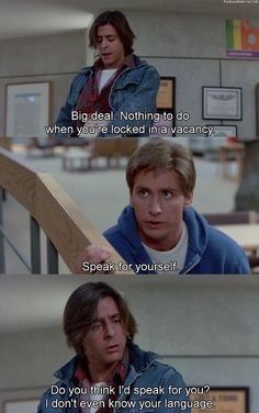 You are watching the movie The Breakfast Club on Putlocker HD. Five disparate high school students meet in Saturday detention, and discover they have a lot more in common than they thought. 80s Movie Quotes, 80s Movies, Iconic Movies, Classic Movies, Great Movies, Film Quotes, Movie Tv, Movie Memes, Lyric Quotes
