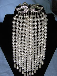 "Pearls, ""Back Jewelry."""