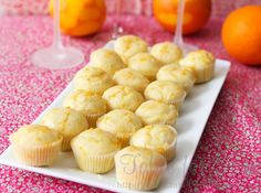 brunch recipes: orange blossom muffins, mini egg, sausage, & cheese frittatas, and cinnamon apple french toast