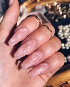 Shared by - 𝙕. Find images and videos about pink, nails and manicure on We Heart It - the app to get lost in what you love. Manicure, Aycrlic Nails, Cute Nails, Pretty Nails, Glitter Nails, Coffin Nails, Perfect Nails, Gorgeous Nails, Stunning Makeup