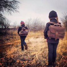 Out with the girls this last fall for a leather camping trip . | Saddleback Leather Co. | Leather Satchel | 100 Year Warranty | $308 - $408