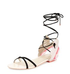 67.64$  Watch now - Women Sandals Hot Gladiator Style Open Toe Laciness Lace-up Flats Summer Sandals Cut-out Casual Shoes Sapato Feminino 34-42   #magazineonlinewebsite