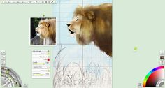 Artrage - grid option