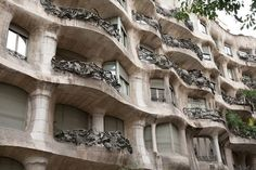 Make sure you explore the roof with its interesting architectural details and great views.  Below is a museum which showcases Gaudi's talents and how he built the building.  You also get to walk through one of the apartments which is decorated in the modernist style. #globalphile #travel #tips #destinations #barcelona #museum #art #architecture http://globalphile.com/city/barcelona-spain/