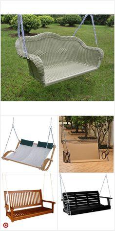 Shop Target for porc Garden Yard Ideas, Backyard Projects, Outdoor Projects, Backyard Swings, Backyard Patio, Backyard Landscaping, Outdoor Seating, Outdoor Decor, Back Patio