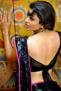 Tie-back saree blouse