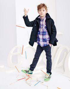 It's a plaid, plaid world. crewcuts Secret Wash, flannel and oxford-cloth shirts for chilly school-day mornings, Saturday playdates and meatloaf Sundays at Nana's.