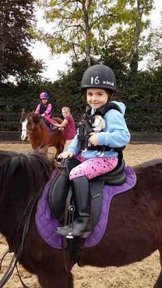 Where's Lottie? Pony Club Lottie and Seren the Welsh Mountain Pony are with her friend Ailbhe (age 4) at horse riding in Ireland. Send your pictures to whereslottie@lottie.com