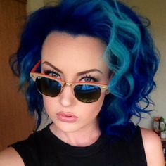 Here you will find beautiful pictures of pravana blue hair color, these pictures can be a wonderful source of ideas. Love Hair, Great Hair, Gorgeous Hair, Awesome Hair, My Hairstyle, Pretty Hairstyles, 2015 Hairstyles, Hairstyle Ideas, Hair Ideas