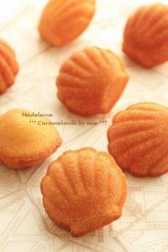 「ふわふわマドレーヌ」きゃらめるみるく | お菓子・パンのレシピや作り方【corecle*コレクル】