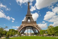 The Eiffel Tower - Nicknamed La dame de fer (the iron lady), is not only the symbol of France, but the most-visited paid monument in the world Eiffel Tower Tour, Costa, Paris France Travel, The Iron Lady, French 75, Short Trip, Travel Alone, Wonderful Places, Amazing Places