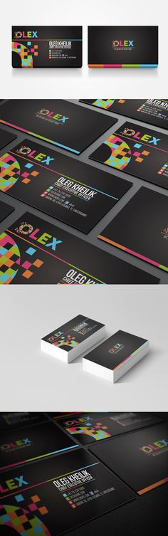 """OLEX is a personal identity. Pixillation of """"O"""" in creating the entire branding stationary for OLEX."""