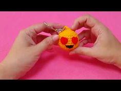 Tutorial llavero amigurumi de emoticono. - YouTube