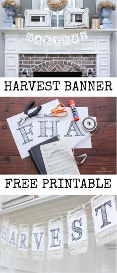 Harvest Banner Free