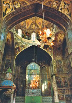 """"""" """" Vank church , Isfahan , Iran """" still favorite """" Islamic Architecture, Beautiful Architecture, Art And Architecture, Architecture Details, Monuments, Iran, Fly Around The World, Interesting Buildings, Orient"""