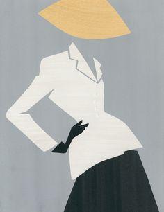 Mats Gustafson for Dior 1947