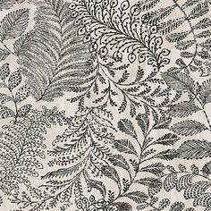 Balth Cream Botanical Wallpaper