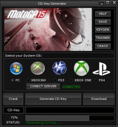 DOWNLOAD: http://cheats-game.info/motogp-15-cd-key-generator-for-pcps-34-and-xbox-one360/