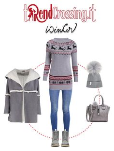 """""""Easy Sinterim"""" by trendcrossing on Polyvore featuring moda, Boohoo, Levi's, Dr. Martens e Winter"""