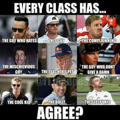 Funny School Jokes, Stupid Funny Memes, Funny Relatable Memes, School Memes, Car Jokes, Car Humor, Ricciardo F1, Daniel Ricciardo, Aryton Senna