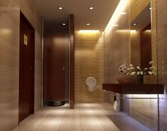 Hotel Lobby Bathroom Design