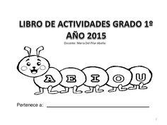 Libro de actividades grado 1º