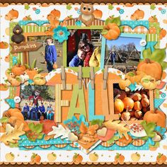 Layout using {Pumpkin Patch} by Nitwit Collections https://www.nitwitcollections.com/shop/index.php?main_page=product_info&cPath=1&products_id=1703