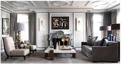 Beautiful interiors by Jean-Louis Deniot.