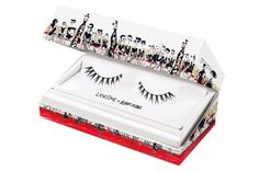 Designer Alber Elbaz, creative director at Lanvin, put his love of drawing to work dressing a collection of makeup. Here's the first animated teaser video (drawn by Elbaz) for the limited-edition Lancome Show by Alber Elbaz collection. Faux Lashes, False Eyelashes, Lanvin, Beauty Calendar, Vogue Makeup, Beauty Routine 20s, Make Up Collection, Lancome, Beauty Make Up