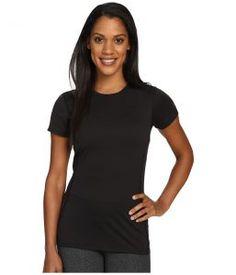 Arc'teryx Phase SL Crew Short Sleeve (Black) Women's Clothing