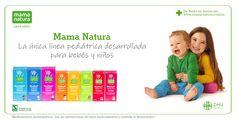 Mama Natura la única línea pediátrica desarollada especialmente para bebés y niños