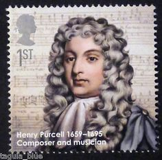 Henry-Purcell-composer-illustrated-on-2009-Stamp-U-M