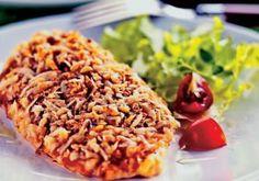 Hambúrguer de frango com aveia | MdeMulher