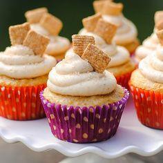 Savory Sight: Cinnamon Toast Crunch Cupcakes