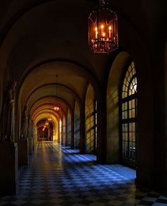 Versailles: haunted hallways once resplendent with activity