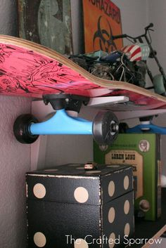 Skateboard Rooms skateboard shelves   bedrooms   pinterest   shelves, bedrooms and room