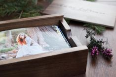 Walnut Photo Box