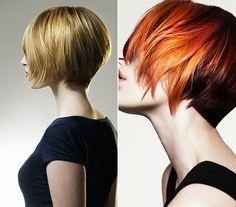 Ha olyan frizurát szeretnél, amit csak meg kell nyomkodni szárítás közben, ez a fazon tökéletesen beválhat. Szintén vékony szálú hajhoz ajánlott, hiszen a tarkónál fokozatosan rövidre szedett tincsek megemelik a haj volumenét.