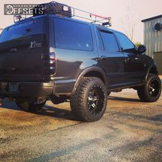 5 1 1999 expedition ford leveling kit fuel driller black gunmetal aggressive 1 outside fender