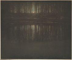 Edward J. Steichen, The Pond - Moonrise, 1904
