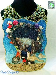 Patricia Keene is a wonderful artist and story teller. This is her Battle of the bead smith piece 2013.